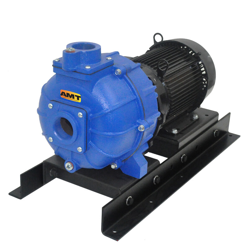 "AMT 2"" self-priming high pressure pumps"